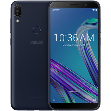 ASUS ZenFone Max Pro (M1) ZB602KL Global Version 6.0 inch FHD+ 5000mAh 13MP+5MP Dual Rear Cameras 3GB RAM 32GB ROM Snapdragon 636 Octa Core 4G Smartphone - Silver