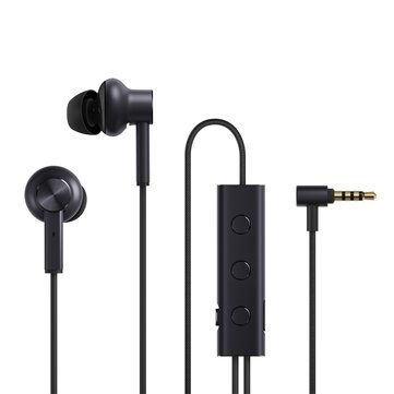 Original Xiaomi Active Noise Cancelling 3.5mm Wired Earphone Hi-Res Dual Dynamic Balanced Armature Driver Headphone