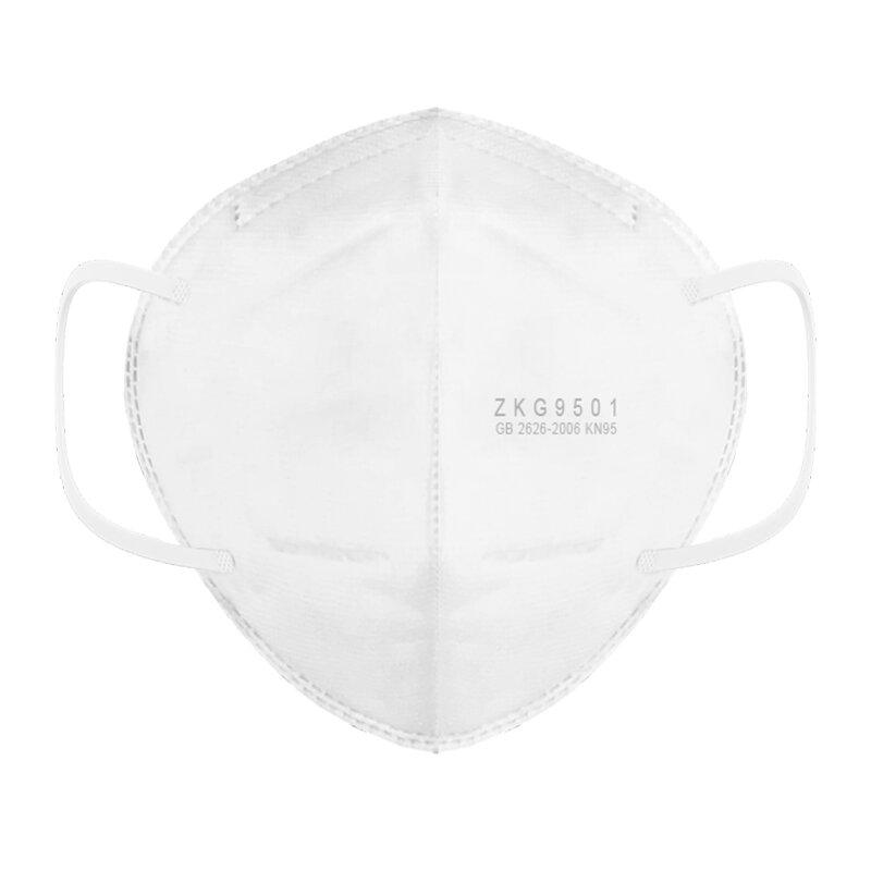3Pcs KN95 FFP2 Face Mask Anti-foaming Splash Proof PM2.5 Dust Anti Fog Filter Breathing Protective Mask Hanging Ear Type