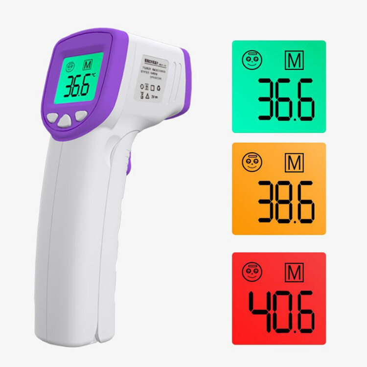 IR Infrared Thermometer Non-Contact LCD Digital Temperature Fever Measurement Thermometer Tester for Baby Adult Child