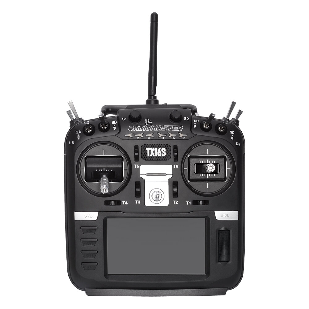 RadioMaster TX16S Hall Sensor Gimbals 2.4G 16CH Multi-protocol RF System OpenTX Mode2 Transmitter