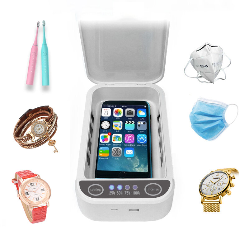 $19.99 for Bakeey DS01 Mask Watch Phone UV Sterilizer