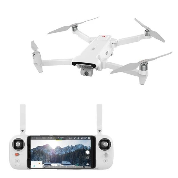 FIMI X8 SE 2020 8KM FPV With 3-axis Gimbal 4K Camera HDR Video GPS 35mins Flight Time RC Quadcopter RTF One Battery Version