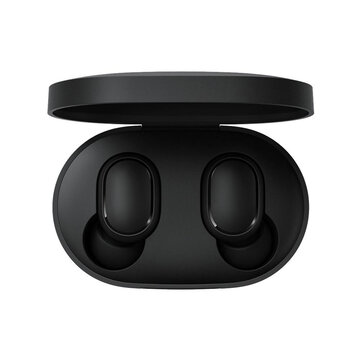 Original Xiaomi Redmi AirDots S Earphone TWS bluetooth Headphone Low Lag Mode Stereo Gaming Headset True Wireless Earbus - Black