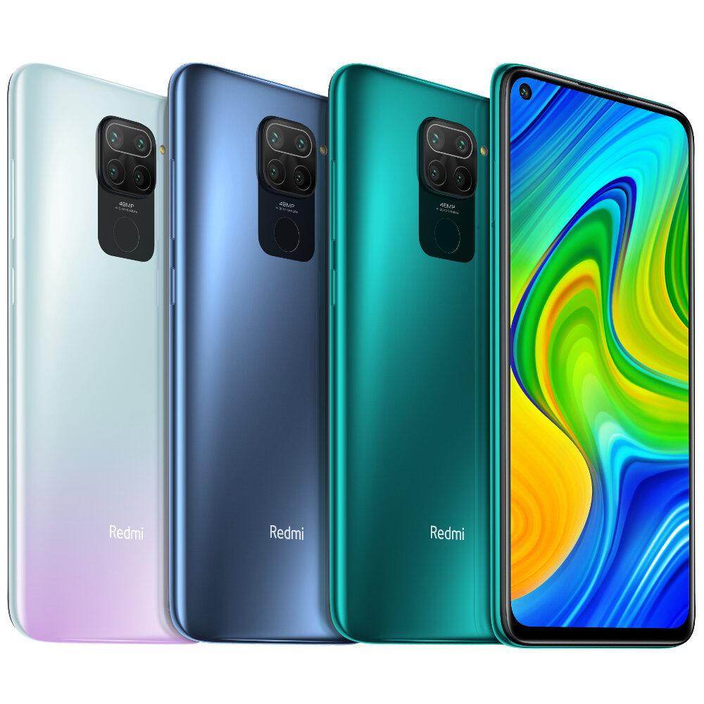 $189 for Xiaomi Redmi Note 9 Global 4GB 128GB