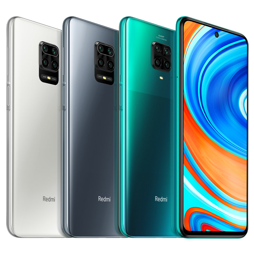 $205 for Xiaomi Redmi Note 9 Pro Global 6GB 64GB