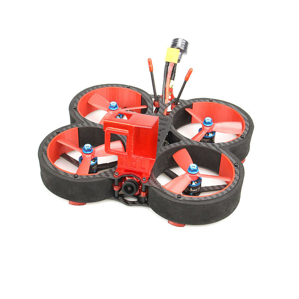 HGLRC Veyron 3 136mm F4 ZEUS 35A ESC 3 Inch 4S / 6S Cinewhoop FPV Racing Drone PNP BNF w/ Caddx Ratel 1200TVL Camera