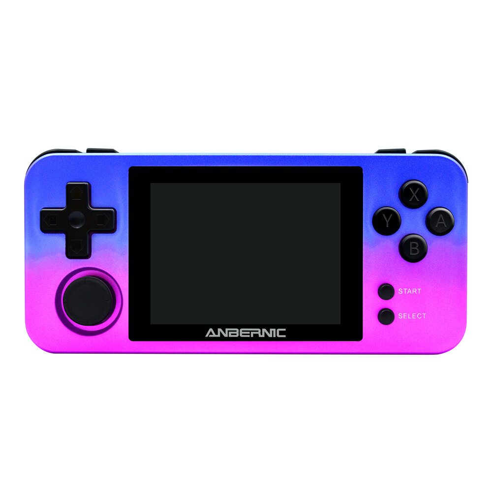 ANBERNIC RG280M DDR2 512M 16GB 2.8 inch IPS HD Display Retro Handheld Video Game Console Vibration Motor Game Player Support PS1 CPS1 CPS2 CPS3 FBA NEOGEO POCKET GB SFC MD
