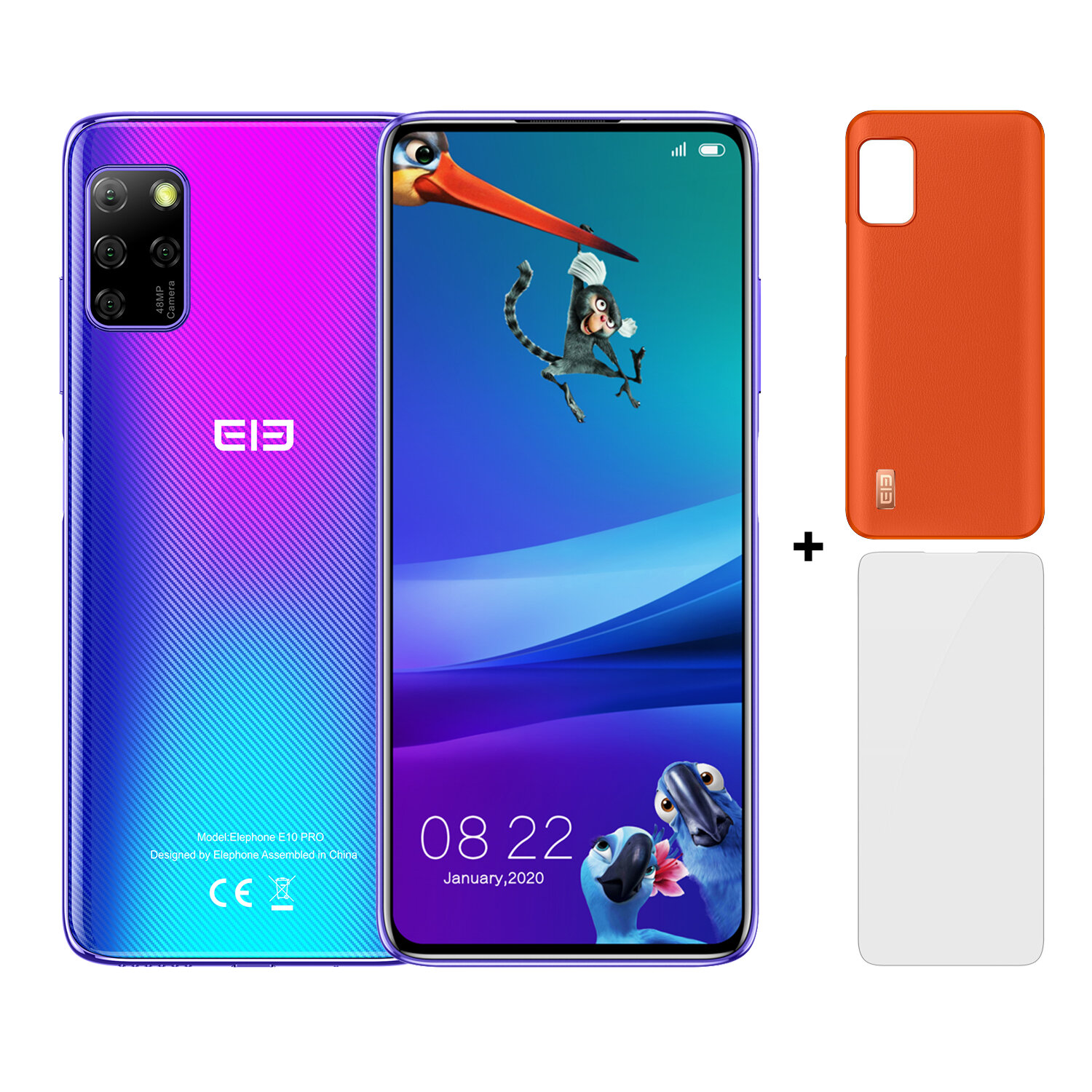 ELEPHONE E10 Pro  4+128 Add Accessory