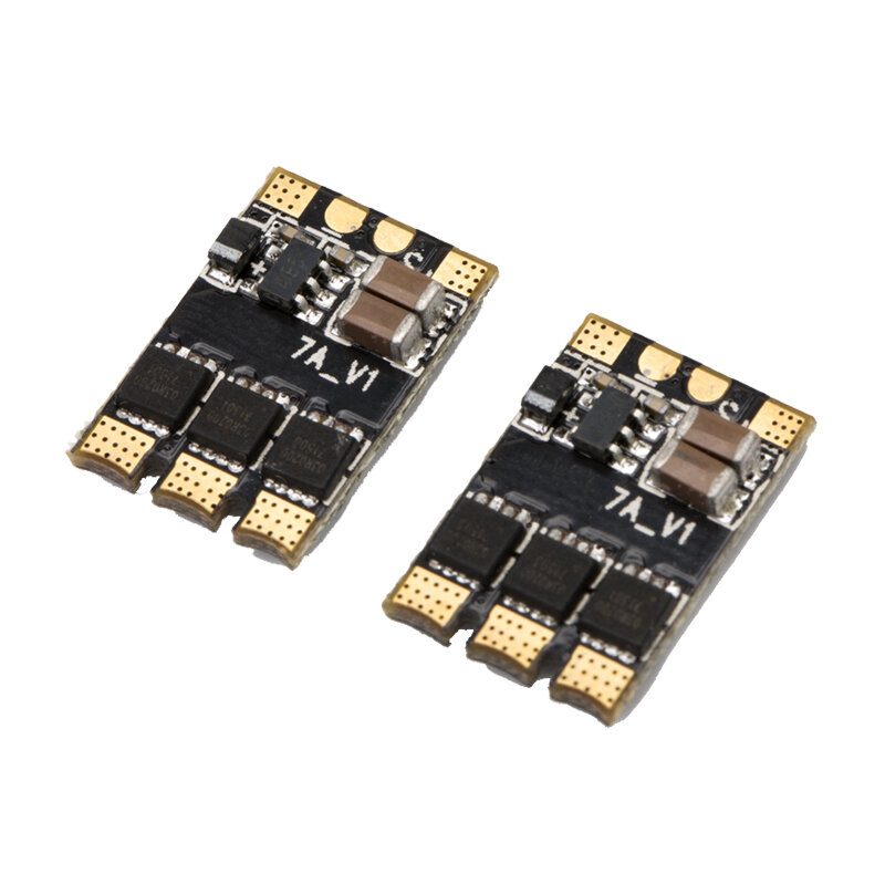 Flashhobby Mini 7A BLHeliS ESC 1~2S Dshot600/Dshot300/Multishot/Oneshot42/Oneshot125 for FPV Racing RC Drone