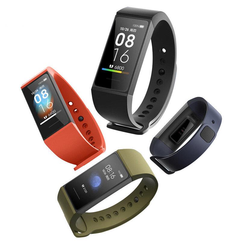 Original Xiaomi Redmi Band Mi Band 4C 1.08' Large Screen Display Wristband bluetooth Music Control Fitness Tracker Smart Watch Global Version
