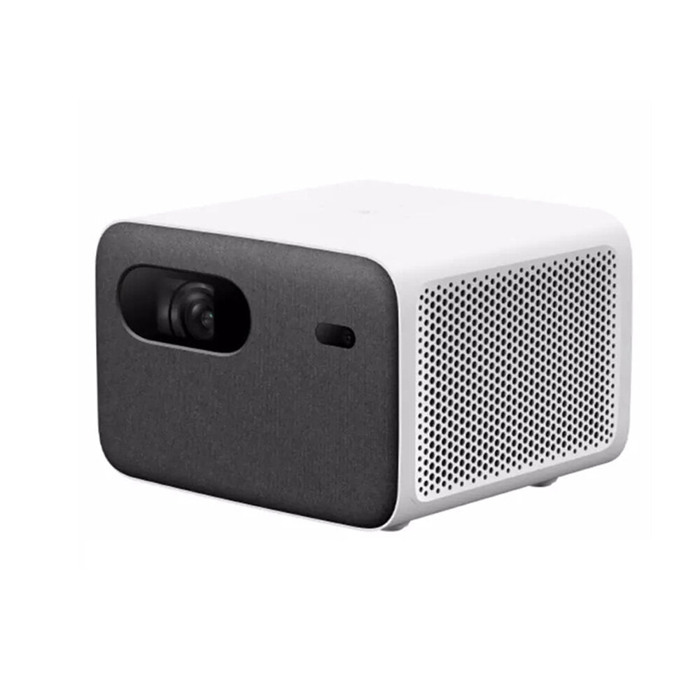 Xiaomi 2Pro WIFI LED Projector 200-inch 1300 ANSI 1080P Resolution Wireless Same Screen Side Projection Far-Field Voice Control Multiple Ports Portable Smart Home Theater Projector Chinese Version