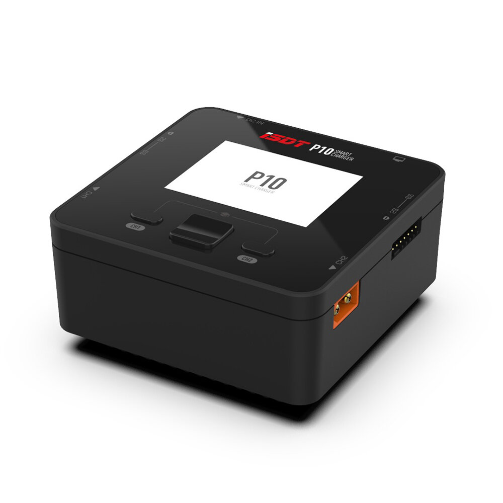 18% OFF for ISDT P10 250WX2 10AX2 DC Dual Channel Smart Charger