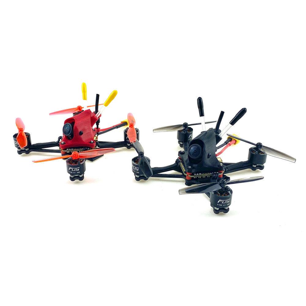FUS Spartan V3 99mm Wheelbase F411 F4 Flight Controller AIO 20A ESC 2-4S Freestyle FPV Racing Drone PNP w/200mW VTX Runcam Nano 2 FPV Camera