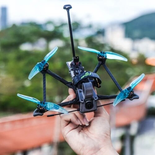 Flywoo Explorer LR HD 4'' 4S Micro Long Range FPV RC Drone Ultralight Quad w/ Caddx Vista HD System GOKU 16X16 MICRO STACK