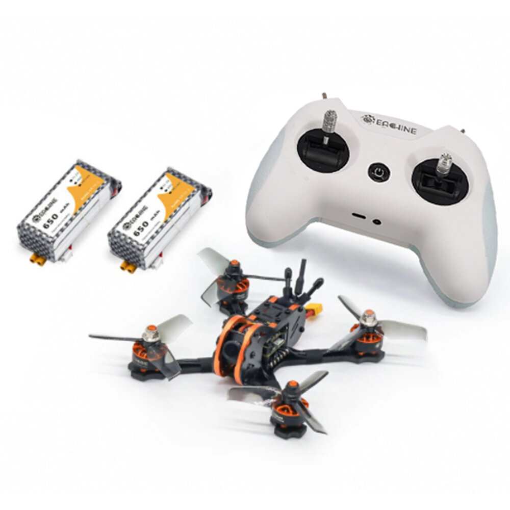 Eachine Tyro Tyro79S 140mm F4 OSD 20A ESC 3 Inch FPV Racing Drone RTF w/ 200mW VTX Frsky XM+ Receiver & LiteRadio 2.4G Radio Transmitter Mode 2