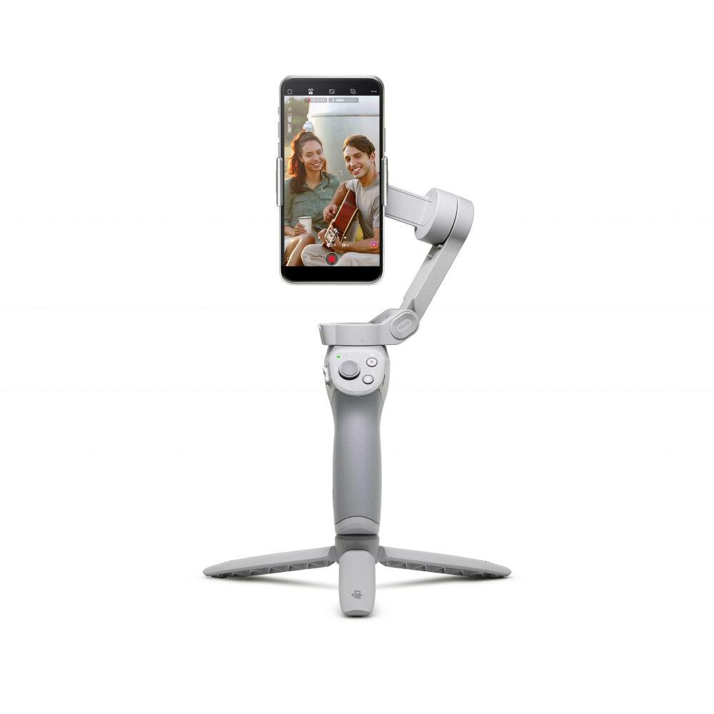 17% OFF for DJI OM 4 OSMO 4 Gimbal 3-Axis Stabilizer Foldable Handheld Magnetic Design Gesture Control ActiveTrack 3.0 for Mobile Phones Smartphone Tiktok Vlog YouTuber Livestream