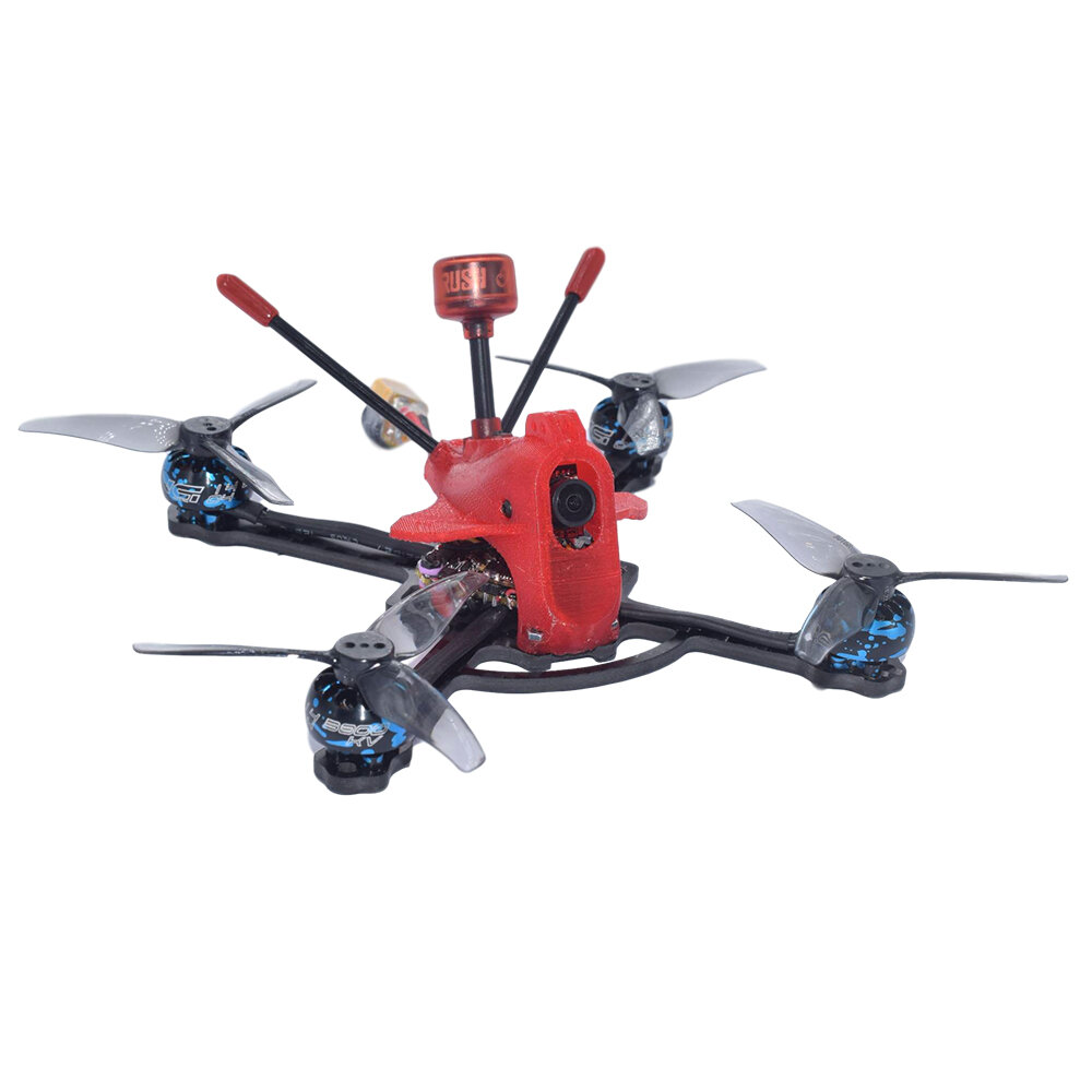 AuroraRC PachRay3 140mm 3Inch 3-4S 25A ESC 1404 3800KV Brushless Motor Compatible with TBS UNIFY VTX FPV Racing Drone
