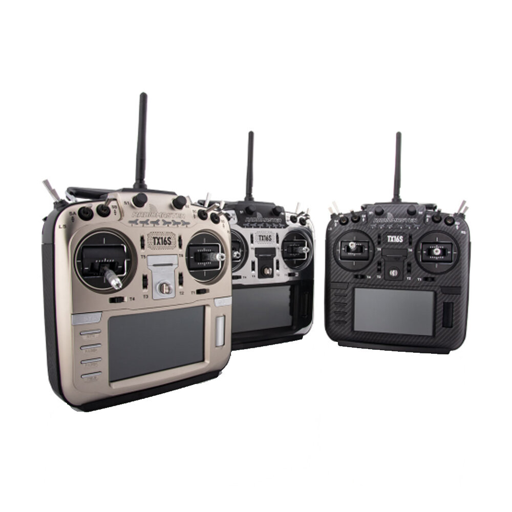 RadioMaster TX16S Multi-color 2.4G 16CH Hall Sensor Gimbals Multi-protocol RF System OpenTX Mode2 Transmitter for RC Drone
