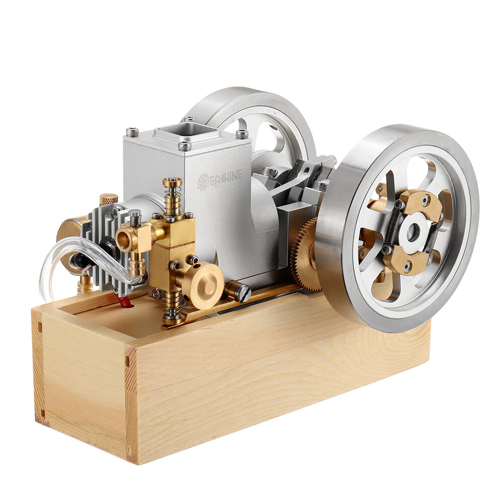 10% OFF for Eachine ET6 Horizontal Hit and Miss Complete Engine Model STEM Upgrade Gas Engine Toys
