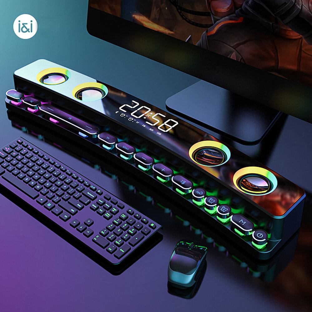SOAIY SH39 Gaming Speaker bluetooth Soundbar
