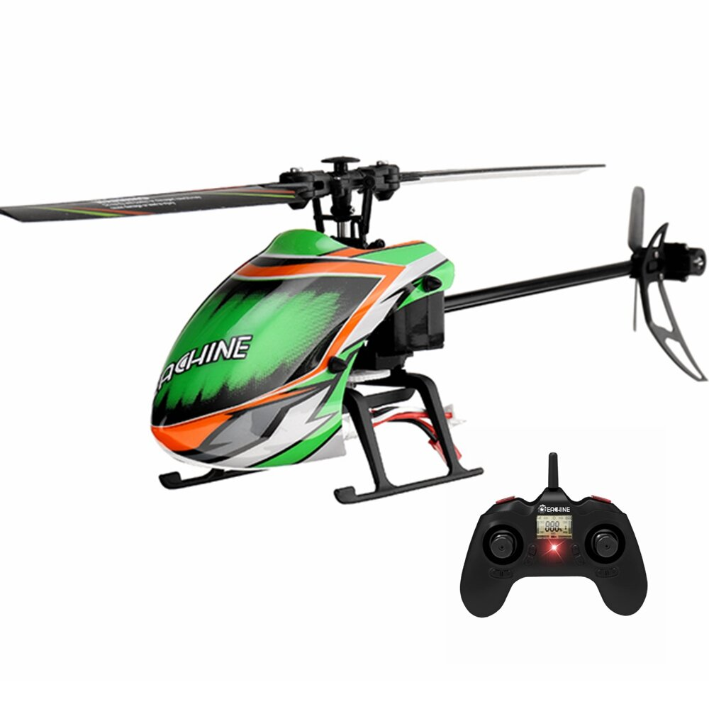 Eachine E130 2.4G 4CH 6-Axis Gyro Altitude Hold Flybarless RC Helicopter RTF