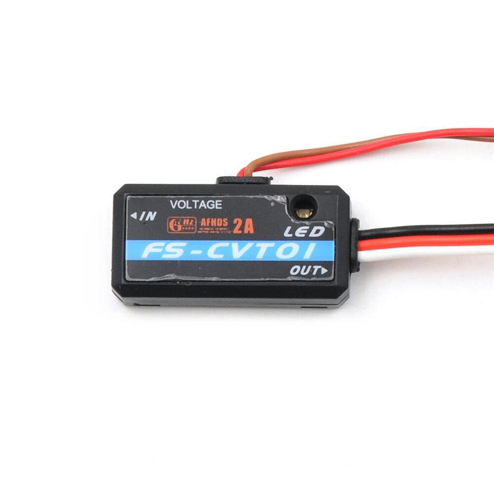 15% OFF for FlySky FS-CVT01 Voltage Sensor Telemetry Data Collection Module for FS-i6 FS-i10 Transmitter and FS-iA6B FS-iA10 Receiver