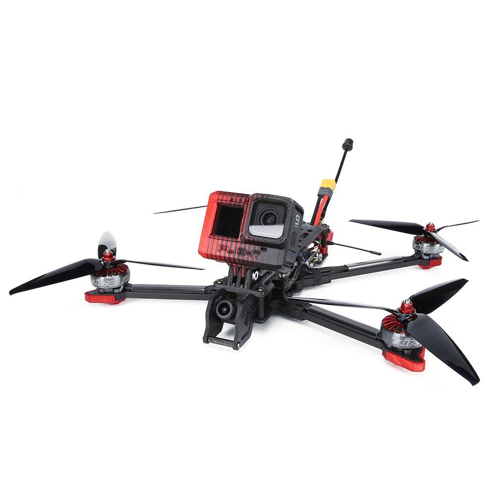 iFlight Chimera7 LR Analog 320mm SucceX-D F7 V2.1 5-6S 7 Inch Long Range Freestyle FPV Racing Drone BNF w/ 800mW VTX Caddx Ratel 1200TVL Camera