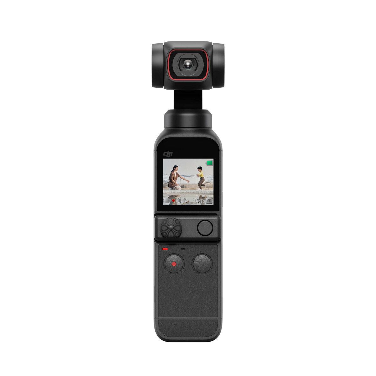 DJI OSMO POCKET 2 FPV Gimbal 3-Axis Handheld Stabilizer FOV 93 Degree Camera 64MP AI Editor Stereo 4K HD 60fps Recording