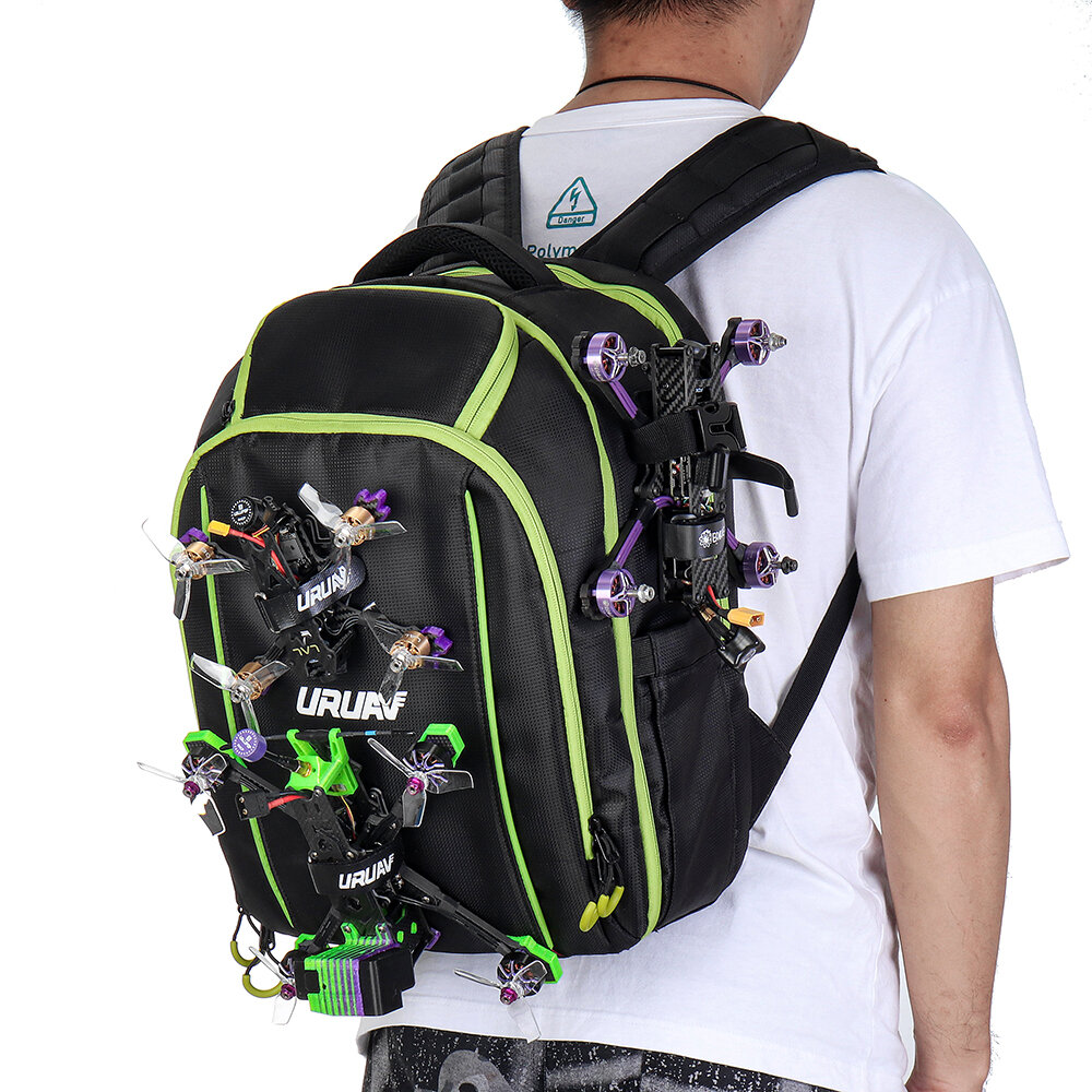URUAV UR7 Pro FPV Packbag Outdoor Waterproof Backpack for RC FPV Racing Drone