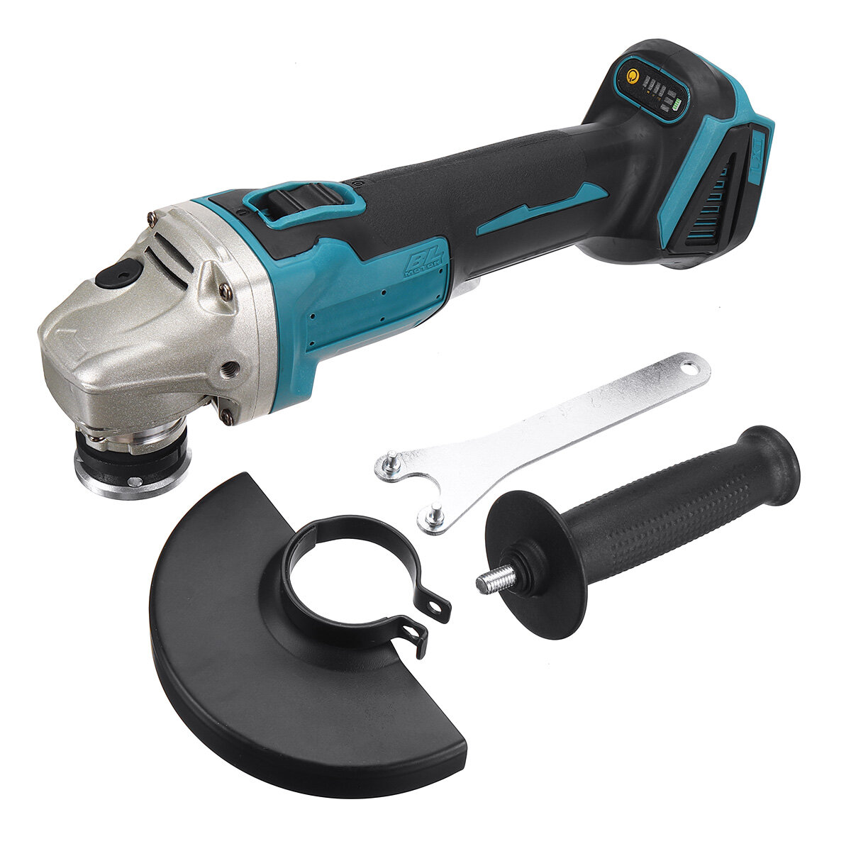 800W 125mm Electric Angle Grinder Cutting Grinding Sander Corded Replace Tool For Makita 18V Battery