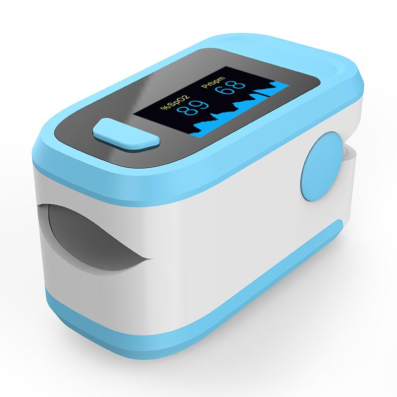 LED Fingertip SpO2 Pulse Oximeter Portable Blood Oxygen Saturation Monitor Heart Rate
