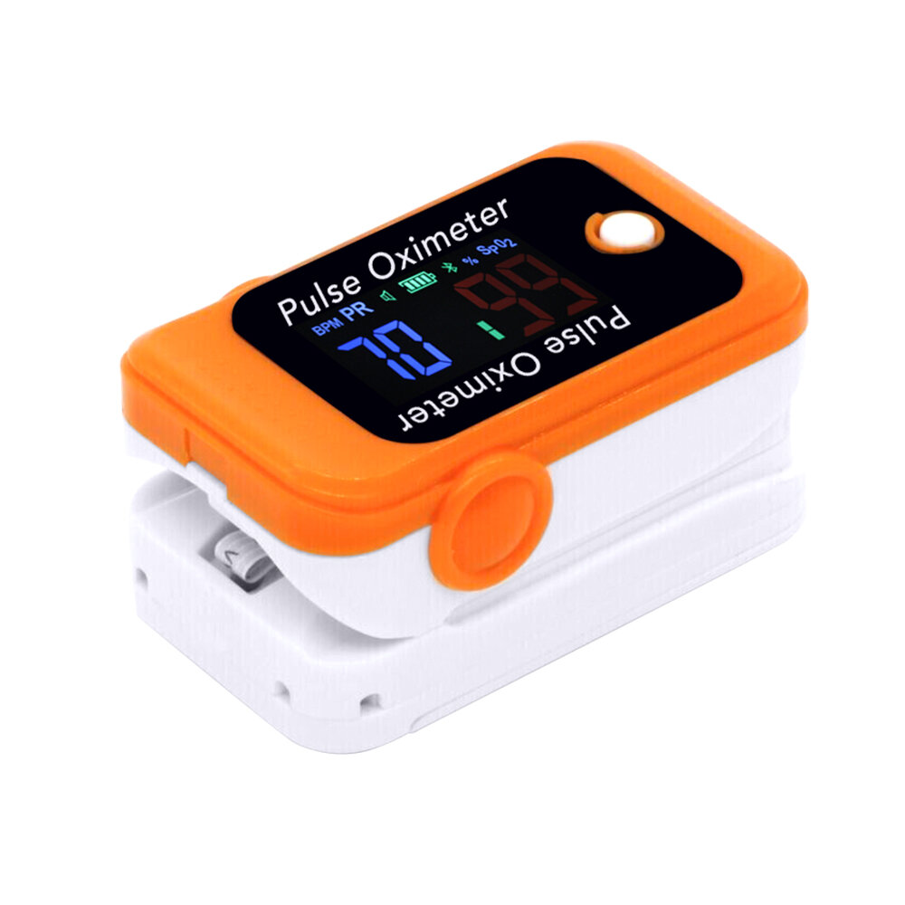 Android iOS Bluetooth 4.0 / 5.0 Fingertip Pulse Oximeter Accurate Smart Household Child Adult APP Pulse Oximeter PR SpO2