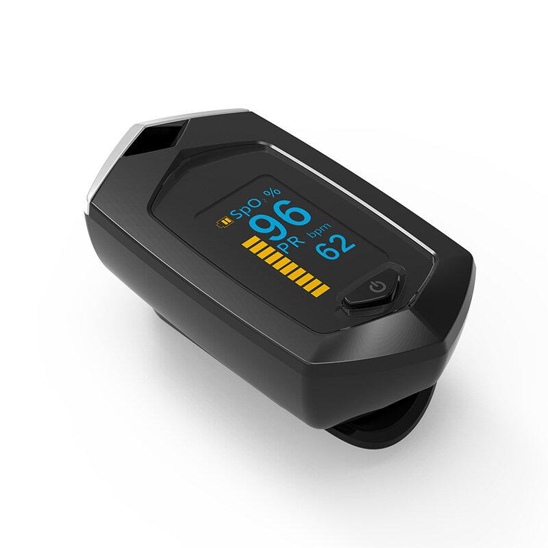 Finger Pulse Oximeter Pulsioximetro SpO2 PR OLED Rechargeable Oximeter Heart Rate Monitor