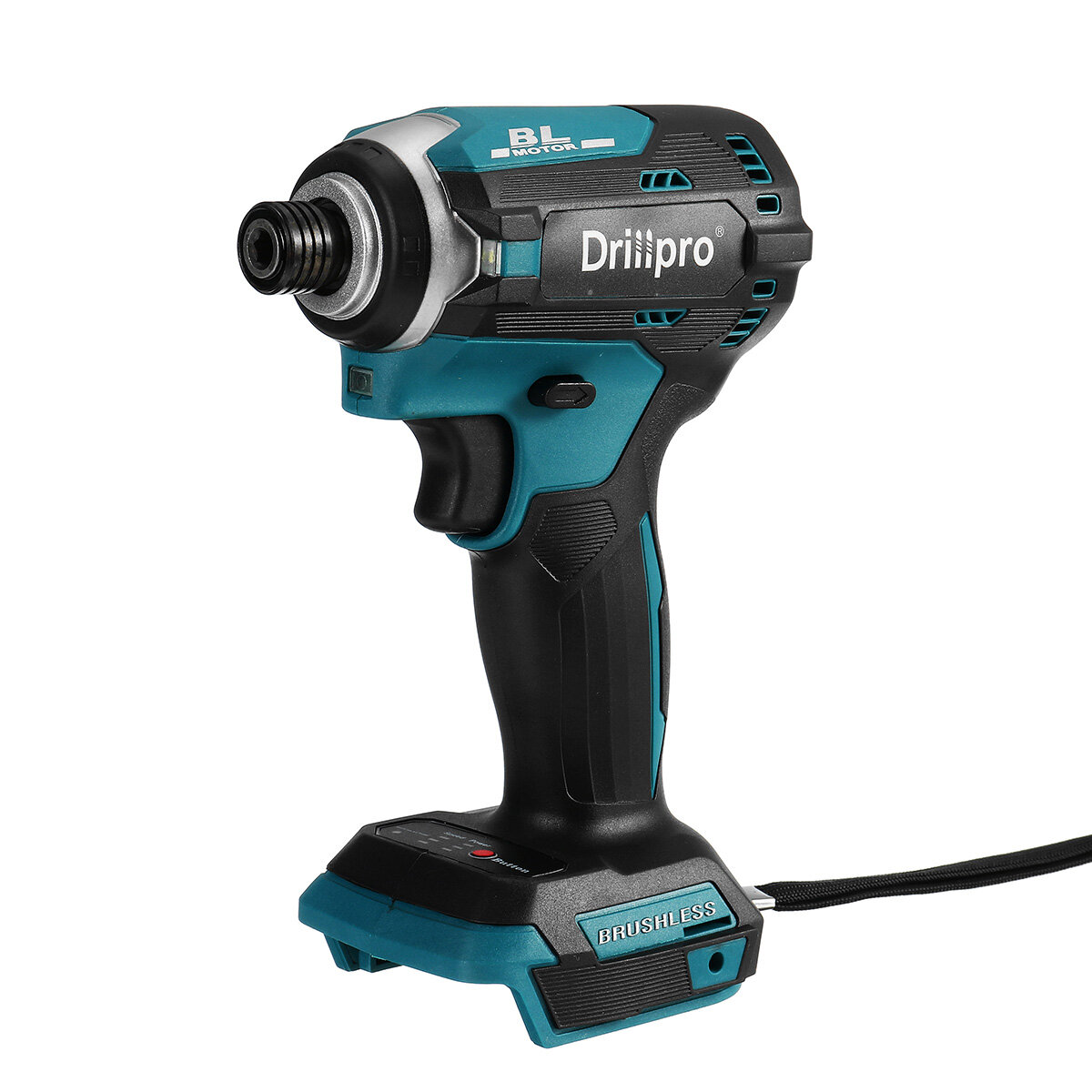 Drillpro 3 Light Cordless Electric Screwdriver 3 Speeds Portable Electric Screw Driver For Makita 18V Battery