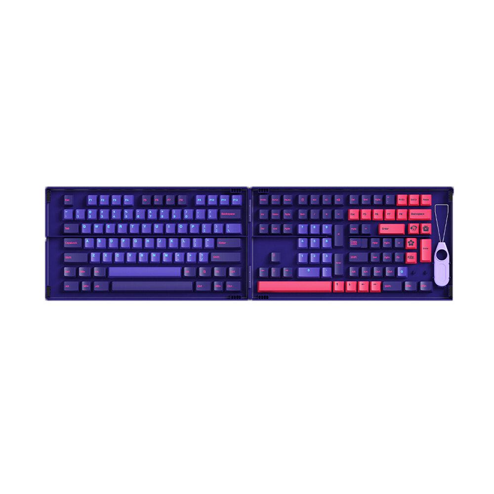 AKKO 157 Keys Neon Keycap Set Gaming Keyboard