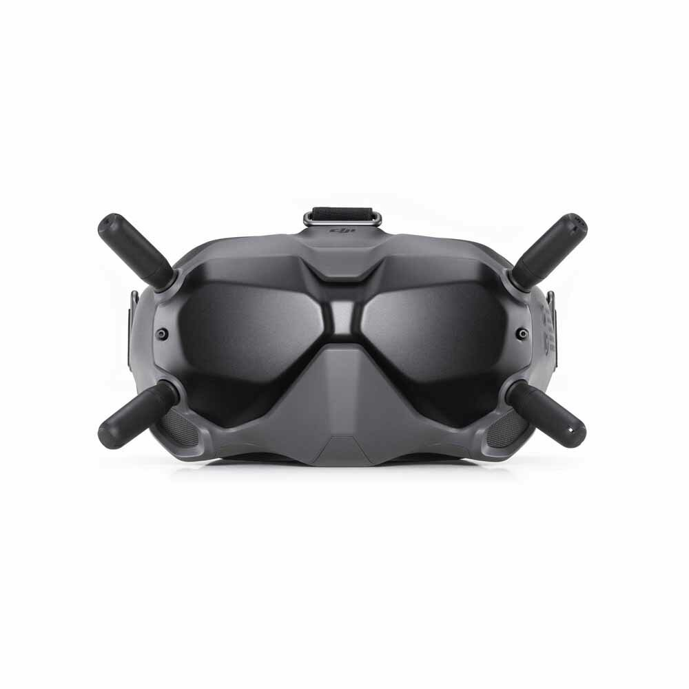 DJI FPV Goggles V2 2.4GHz/5.8Ghz 1440×810 Ultra Low Latency Support DVR With Battery Compatible With DJI Digital Air Unit Caddx Vista Eachine Nebula VTX for FPV Racing Drone RC Airplane