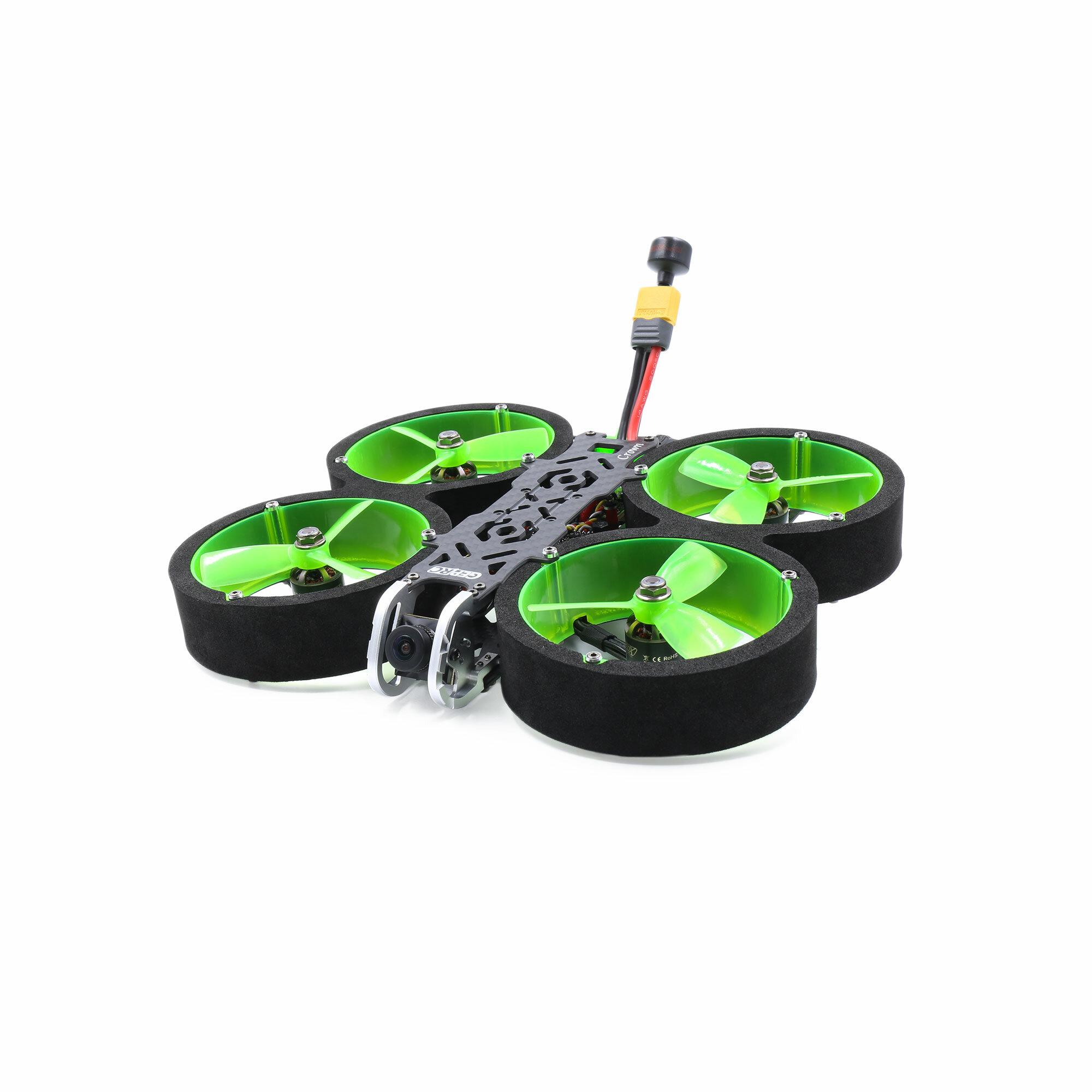GEPRC Crown Analog 3 Inch 4S Cinewhoop FPV Racing Drone PNP/BNF Caddx Ratel V2 Cam 600mW VTX SPAN F722 HD FC 1408 3500KV Motor 45A Blheli_S ESC