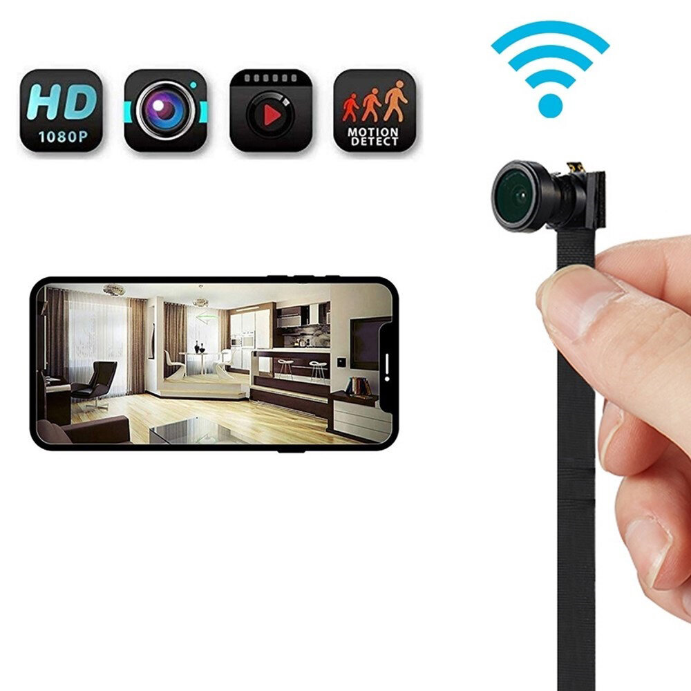 4K 1080P WiFi IP Camera Module Motion DV P2P Camera Video Recorder Camcorder Remote Control Hidden TF for Home Security Camera