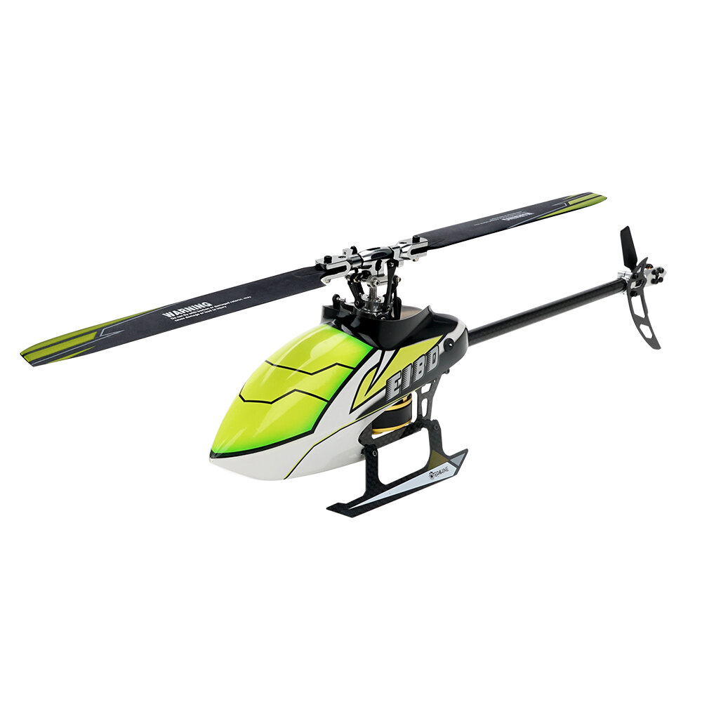 Eachine E180 6CH 3D6G System Dual Brushless Direct Drive Motor Flybarless RC Helicopter BNF Compatible with FUTABA S-FHSS