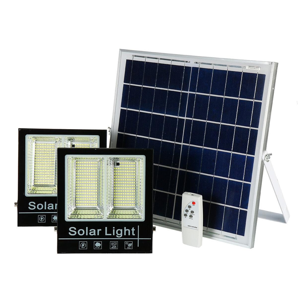 1000W LED Solar Light Lamp Floodlight Garden Solar Split Panel Light for Outdoor Garden Lighting