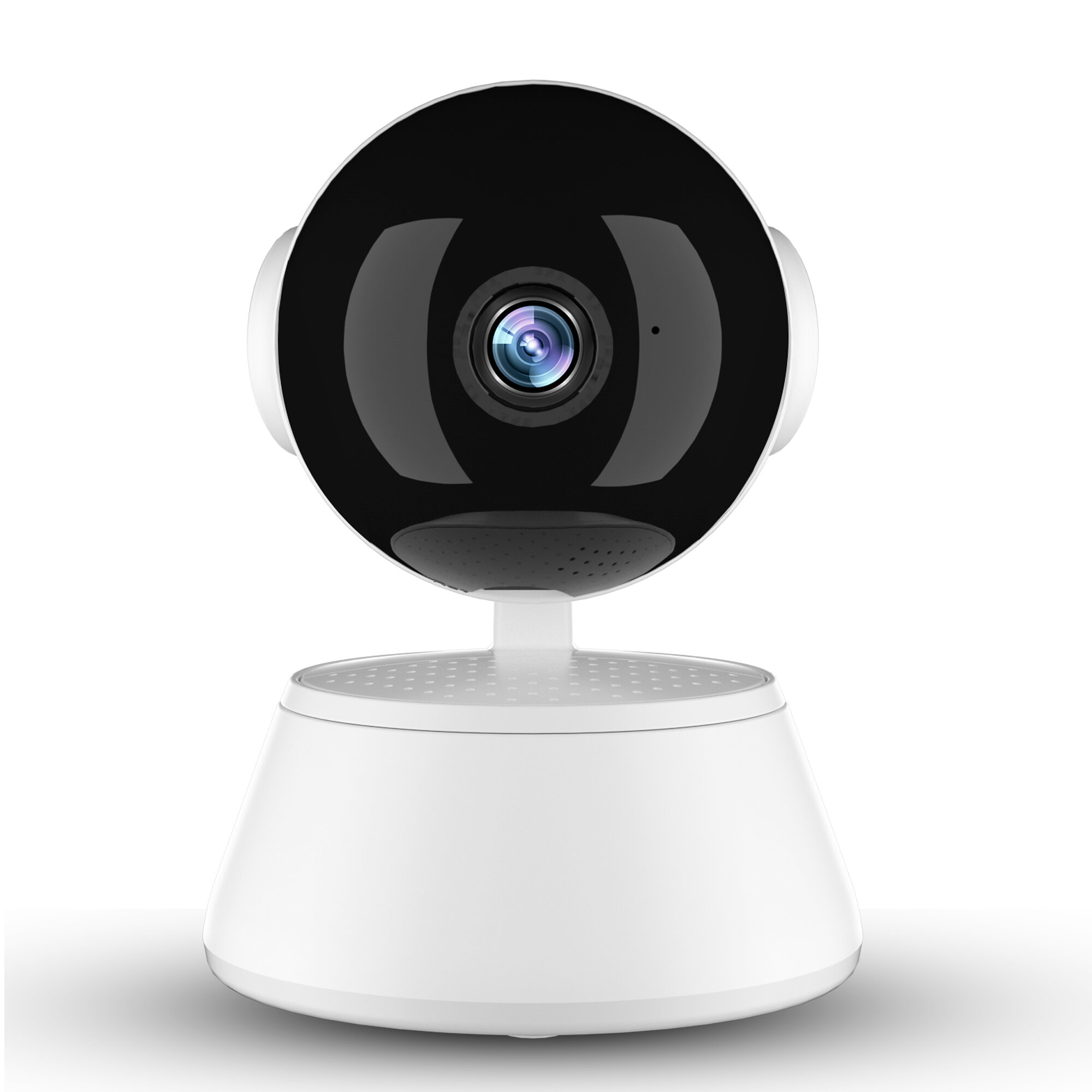 Xiaovv Q6 Pro 1080P WIFI Smart IP Camera 355° Panaromic V380 Pro AP Hotpot Connection Two Way Audio Night Vision Indoor Wireless Security Home Camera