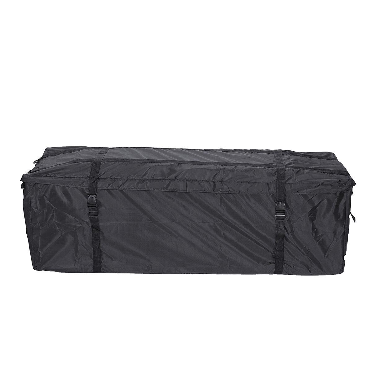 Large Waterproof Car Roof Top Rack Bag Cargo Carrier Luggage Storage Travel Tote