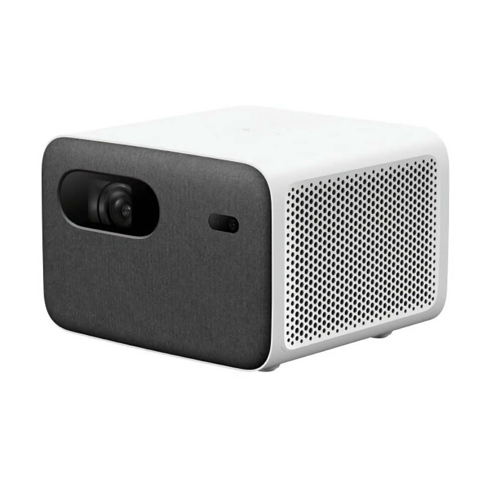 [Global Version] XIAOMI Mijia Mi Smart Projector 2 Pro WIFI LED Full HD Native 1080P Certificated Google Assistant Android TV Netflix YouTube 1300 ANSI Lumens Senseless Focus All Directional Auto Keystone Correction
