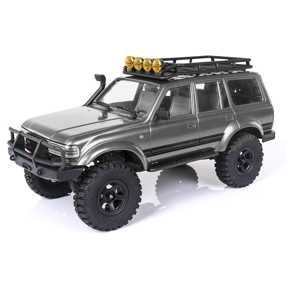 Eachine Rochobby 1/18 2.4G Land Cruiser 80 For TOYOTA Partly Waterproof Crawler Off Road RC Car Vehicle Models RTR Remote Control Car