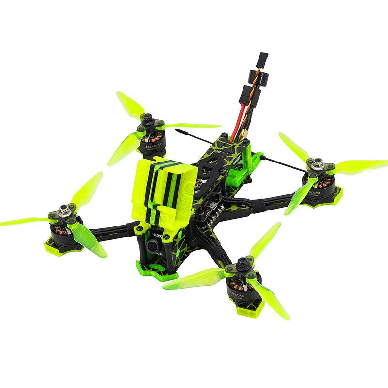 Tcmmrc Metsaema215 215mm Wheelbase F4 4S / 6S 5 Inch Freestyle FPV Racing Drone PNP w/ 40A ESC 2207 2400KV Motor Caddx Turbos F2 1200TVL Camera