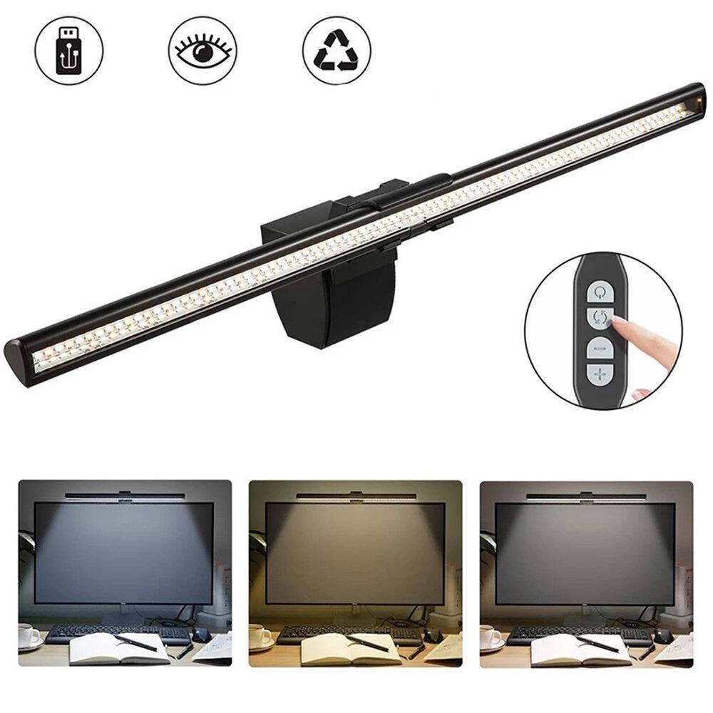 USB LED Screen Bar Light Desktop Display Lamp Dimmable Laptop Monitor Hanging Light LED Table Lamp Eye Protection Reading Lamp