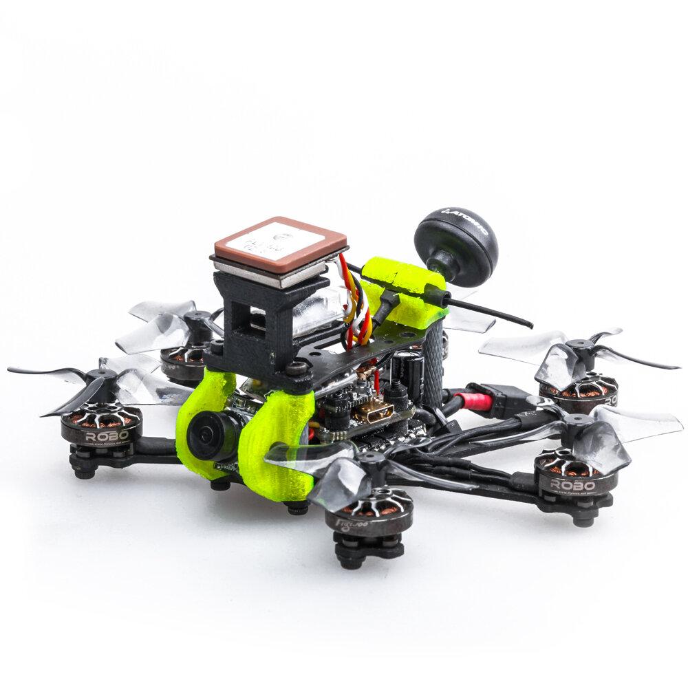 Flywoo Firefly Hex Nano INAV 90mm GOKU F4 13A ESC 4S 1.6 Inch Hexacopter Micro FPV Racing Drone BNF with GPS 5.8G 450mW VTX Caddx ANT 1200TVL Camera