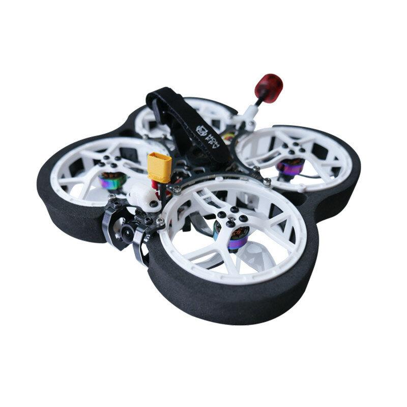 Homfpv Micron RS 95mm 2-6S FPV Racing Drone Caddx Ant Cam F411 AIO Flight Controller 35A Blheli_S ESC