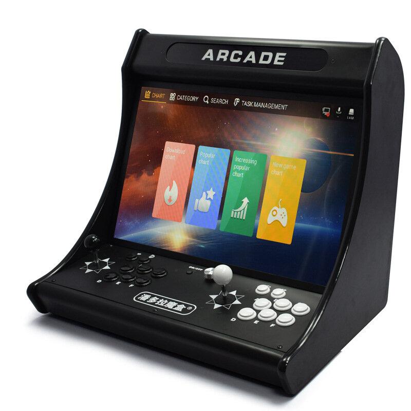 Pandoras 3D 6GB 4018 Games Arcade Game Console 24 Inch IPS HD Screen Desktop WiFi Game Console Double Rocker Fighting Joystick Machine